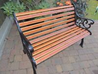 Majestic Garden Bench - 2 seater - refurbed