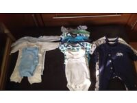Bundle of Tiny baby Premature Baby clothes