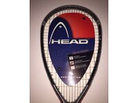 Head Carbon Squash Racket