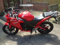 Honda CBR 125 R-D JC50 125cc Red Learner Legal Motor Cycle Bike Excellent Condition 2013