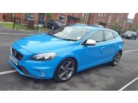 2014 VOLVO V40 D2 R-DESIGN NAV 1560cc Turbo Diesel Manual 5 Door Hatchback