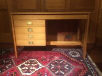 Solid wood desk, in excellent condition! Has 4 drawers, needs to be seen!