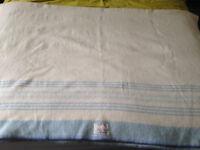 Vintage/Antique Wool Blanket/Bedding, Picnic
