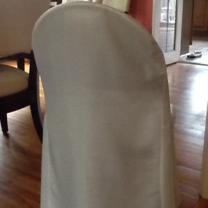 Banquet Chair Covers Ivory