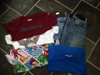 Boys tops and jeans 5-7yrs