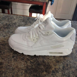 Nike Air max 90 white leather sz 11.5 $100 OBO