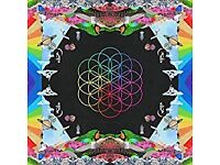 Coldplay Head full of dreams, as new condition
