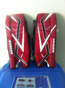 Street Hockey Goalie Pads & Glove - Vaughn