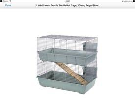 2 level indoor rabbit cage