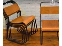Stacking chairs - job lot
