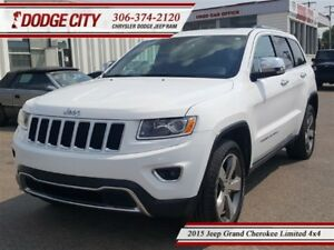 2015 Jeep Grand Cherokee Limited 4x4 **PST PAID**