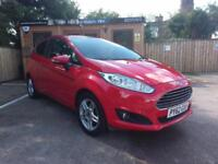 2013 FORD FIESTA 1.0 ( 80ps ) ( S/S ) ZETEC IN RED