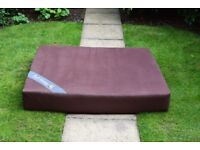 Excellent Condition Waterproof Extra Large Orthopaedic Dog Bed: Single Block 100% Memory Foam