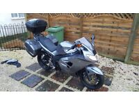 triumph sprint 1050cc excellent condition mot with triumph luggage boxes