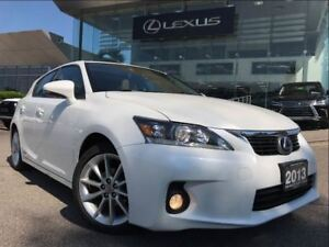 2013 Lexus CT 200h Premium Pkg Backup Cam Leather Sunroof Blueto