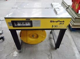 STRAPACK JK-2 SEMI AUTOMATIC STRAPPING MACHINE WITH INSTRUCTION MANUAL