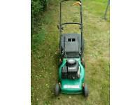 Petrol lawn mower fully working