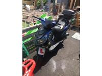 50cc moped with MOT