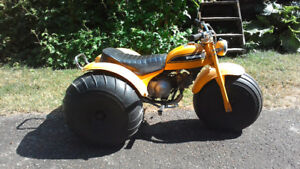 Collector's item!  1972 Honda 3 wheeler off-road trike