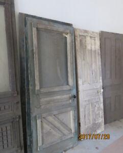 8 Antique Hardwood Doors