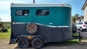 Warmblood Size Horse Trailer