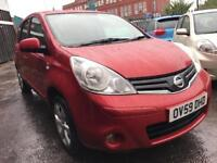 Nissan Note 1.4 16v N-TEC 5dr WARRANTY+LONG MOT+FULL S/H 2KS