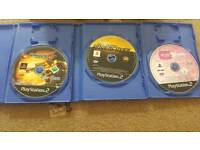 PlayStation 2 with 3 games and brand new pads including all other accessories