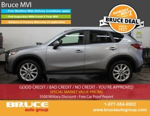 2014 Mazda CX-5 GT 2.5L 4 CYL AUTOMATIC AWD SUN ROOF, LEATHER IN