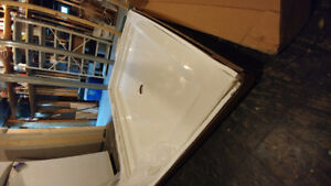 "Mirolin 36"" x 48"" Alcove shower base"