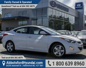 2013 Hyundai Elantra GLS CERTIFIED ACCIDENT FREE