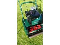 Atco Balmoral 14SK petrol Cylinder lawnmower + Scarifier