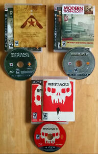 RESISTANCE 1,2,& 3:Complete Series.MINT Condition! 70% off Ebay!