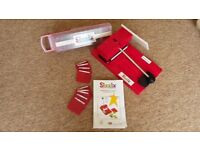 Card Making - Sizzix Die Cutter and dies - Press, Full Alphabet and 9 other dies included