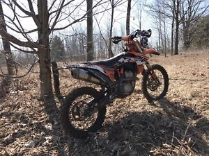 2011 KTM 350SXF Factory Cairoli 222 Edition as a parts bike