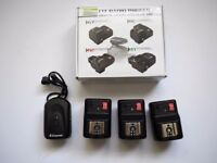 canon wireless flash triggers