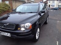 Black Volvo xc90 2.4 diesel, auto , seven seat , ideal family car,