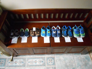 Various baby boy sizes