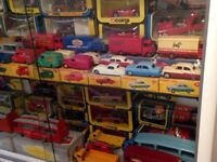BEST PRICES PAID LARGE COLLECTIONS OR SINGLE ITEMS MINT BOXED DINKY CORGI