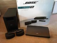 Bose Lifestyle 235 Home Cinema System Boxed - V good conditiom