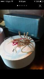 Brand new Rainbow Club side tiara £40
