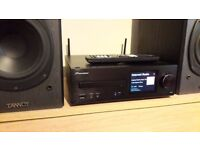 Pioneer XC-HM72-K network system +Tannoy speakers , CD, USB, Wireless LAN, DLNA, AirPlay,