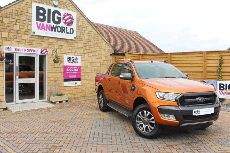 2016 FORD RANGER WILDTRAK TDCI 200 4X4 DOUBLE CAB AUTO PICK UP DIESEL