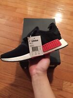 Black/ Red NMD R1's *Deadstock* + Champs Exclusive Blk NMD R1's