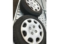 4 wheel and very good tyres for Peugeot 206 and many more