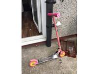 Folding Kids metal scooter