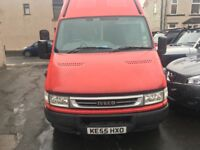 IVECO DAILY 2.3 TURBO DIESEL LONG MOT RUNS AND. DRIVES SPOT ON