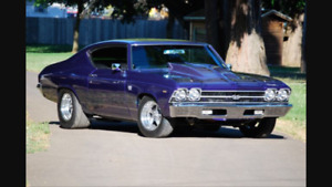Looking for front clip for 69 chevelle