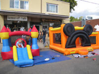 $100-$160 FOR 24H RENTAL OF KIDS INFLATABLE BOUNCY HOUSE