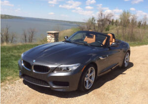 2014 BMW Z4 hardtop roadster, low km, like new.