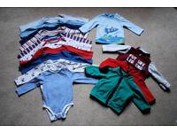 Baby boy clothes bundle, size 6-9 months+